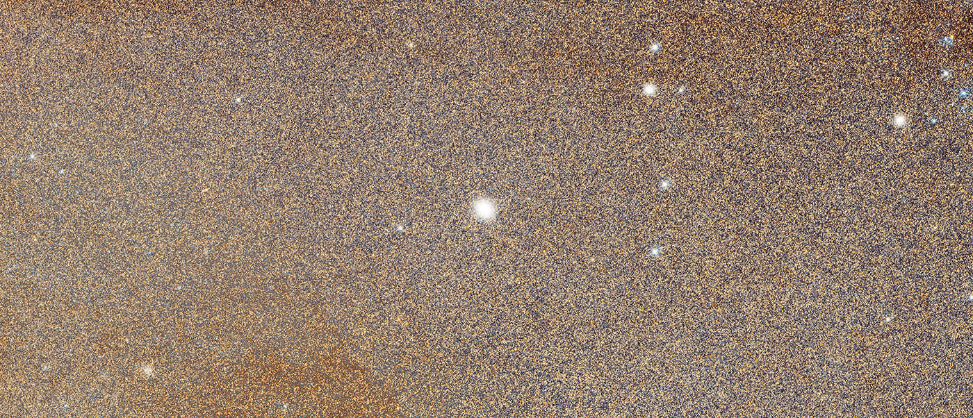 Hubble Space Telescope - Detail of M31