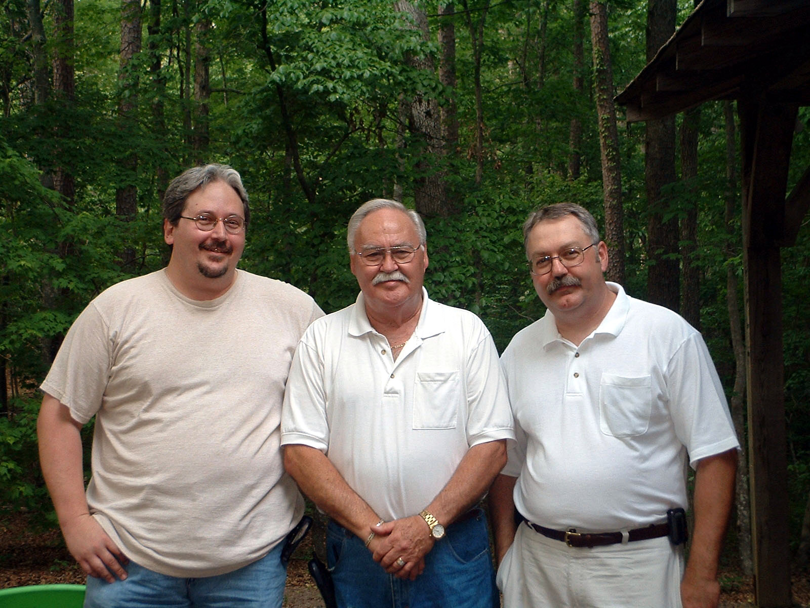 Kevin, Allen and Mike Lovelace